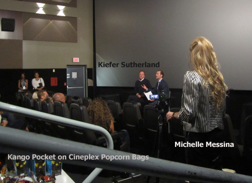 TIFF Kiefer Sutherland Michelle Messina Pocket Pictures